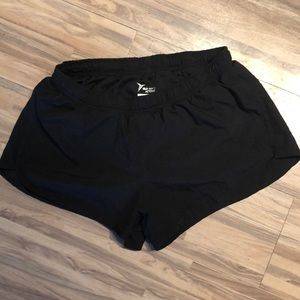 Old navy black running shorts